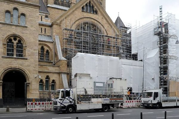 Synagoge in Köln – Fassade wird komplett restauriert