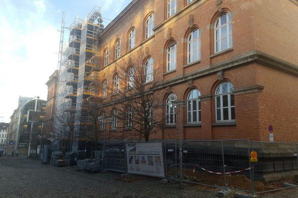 Couven Gymnasium RWTH Aachen – Mauerwerks- u. Naturwerkstein-Sanierung
