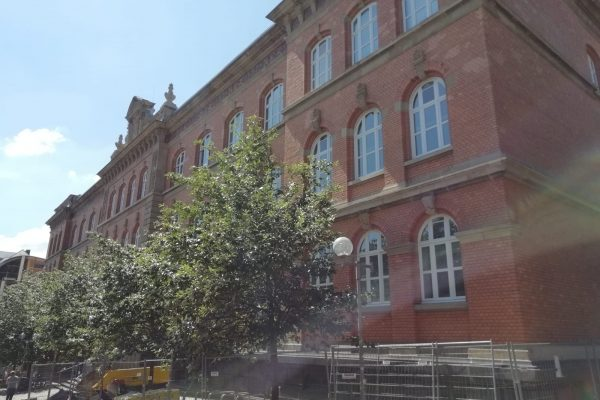 Couven Gymnasium – Fassadenarbeiten abgeschlossen