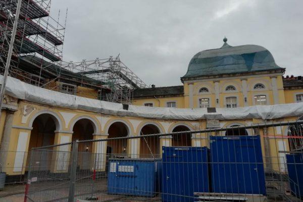 Restaurierungsarbeiten Poppelsdorfer Schloss