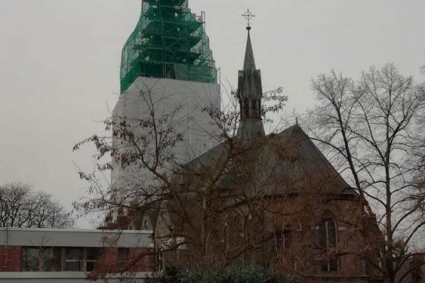 Turmsanierung St. Laurentius